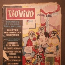 Tebeos: TIO VIVO - AÑO II - Nº 32 - DER - CRISOL - TIOVIVO- 1958 - SEMANARIO DE HUMOR PARA MAYORES. Lote 58475111