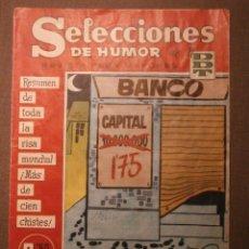 Tebeos: TEBEO - SELECCIONES DE HUMOR DE EL DDT - Nº 92 - EDITORIAL BRUGUERA - 1958 -. Lote 58475119