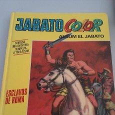Tebeos: LIBRO JABATO COLOR ALBUM EL JABATO ESCLAVOS DE ROMA. Lote 58483921