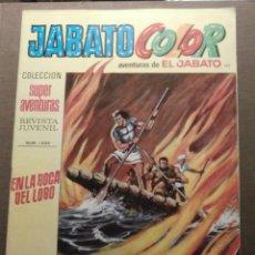 Tebeos: COMIC - JABATO COLOR - LAS AVENTURAS DE EL JABATO - AÑO IV - Nº 127 - 1434 - BRUGUERA - 1972 - . Lote 58489853