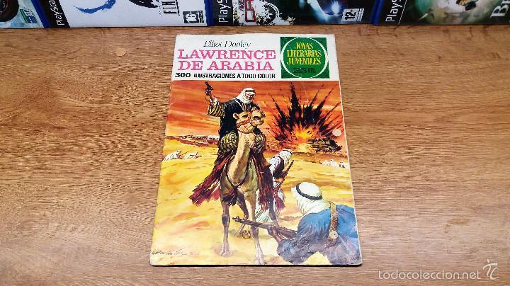 COMIC LAWRENCE DE ARABIA-EDITORIAL BRUGUERA-EDICION 1976-NUMERO 44 (Tebeos y Comics - Bruguera - Joyas Literarias)