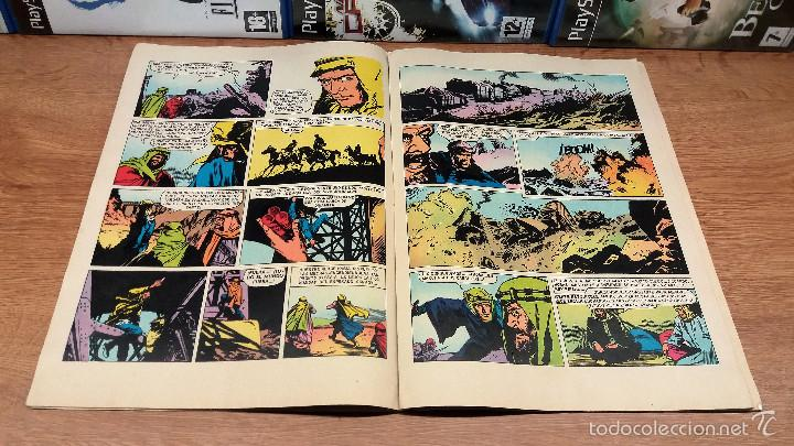 Tebeos: COMIC LAWRENCE DE ARABIA-EDITORIAL BRUGUERA-EDICION 1976-NUMERO 44 - Foto 3 - 58500574