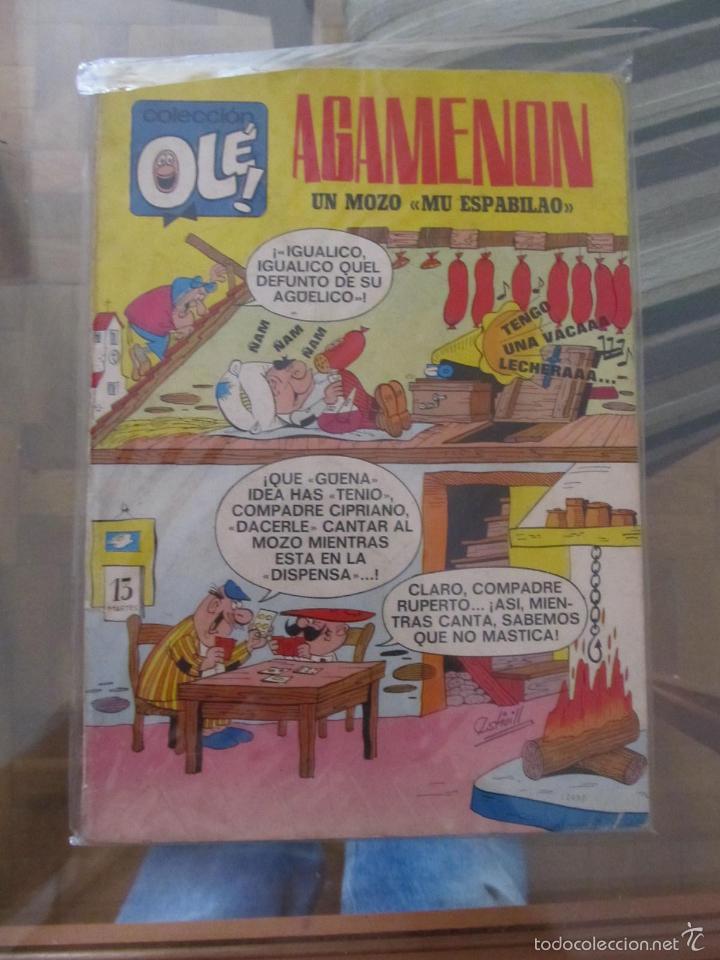 M69 OLE DE AGAMENON NUMERO 13 PRIMERA EDICION DIFICIL (Tebeos y Comics - Bruguera - Ole)