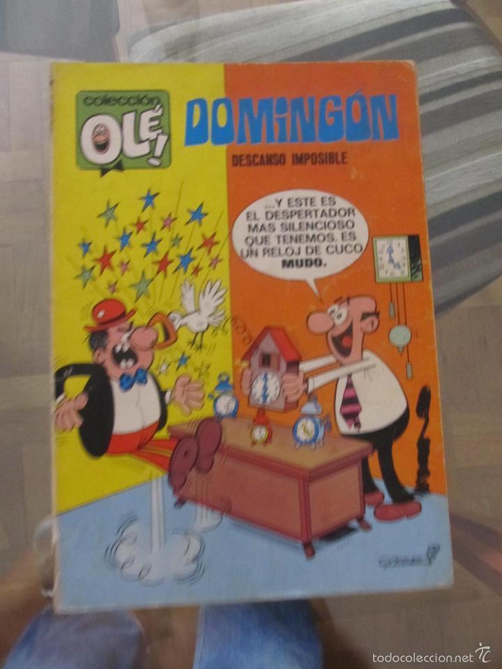 M69 OLE DE DOMINGON NUMERO 20 PRIMERA EDICION DIFICIL VER DESCRIPCION (Tebeos y Comics - Bruguera - Ole)