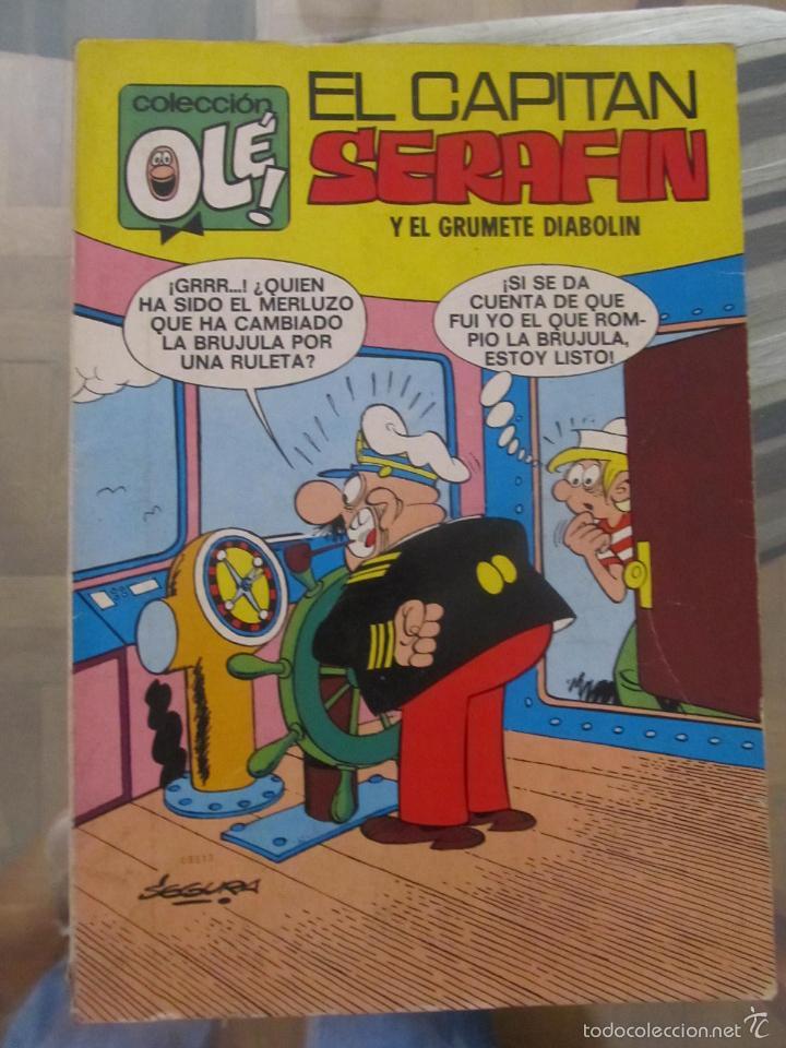 M69 OLE DE EL CAPITAN SERAFIN NUMERO 21 PRIMERA EDICION DIFICIL VER DESCRIPCION (Tebeos y Comics - Bruguera - Ole)