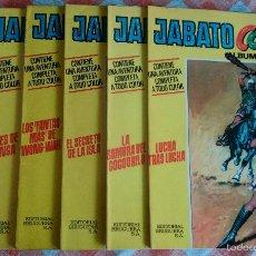 Tebeos: JABATO COLOR ALBUM Nº 7, 9, 18, 22, 27 Y 31 (BRUGUERA 1ª EDICION 1970/71) 6 ALBUMES, VER FOTOS.. Lote 54718951