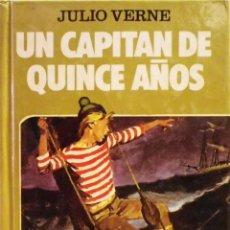 Tebeos: UN CAPITÁN DE QUINCE AÑOS. JULIO VERNE. COLECCIÓN HISTORIAS SELECCIÓN Nº 1. BRUGUERA.. Lote 27089470