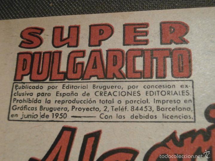 Tebeos: Tebeo - Super pulgarcito - Junio del Año 1950 - Nº 15 - Editorial Bruguera - En Buen Estado - - Foto 2 - 58588535