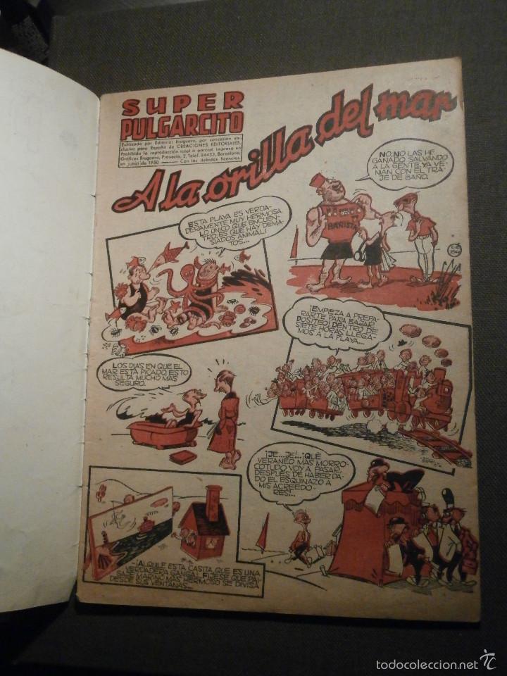 Tebeos: Tebeo - Super pulgarcito - Junio del Año 1950 - Nº 15 - Editorial Bruguera - En Buen Estado - - Foto 3 - 58588535