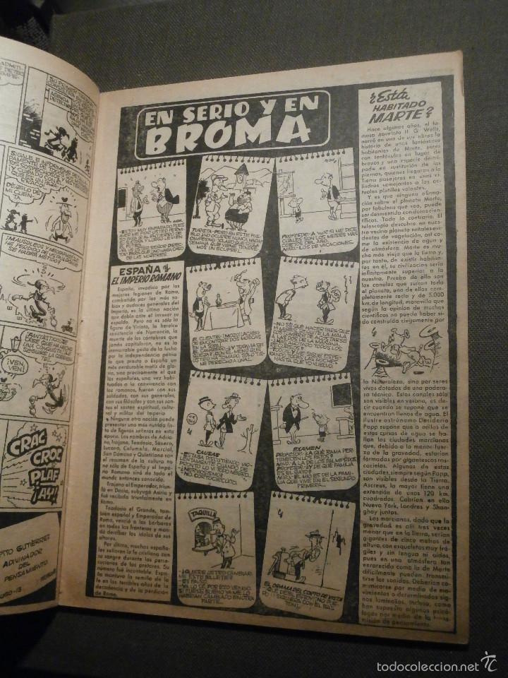 Tebeos: Tebeo - Super pulgarcito - Junio del Año 1950 - Nº 15 - Editorial Bruguera - En Buen Estado - - Foto 4 - 58588535