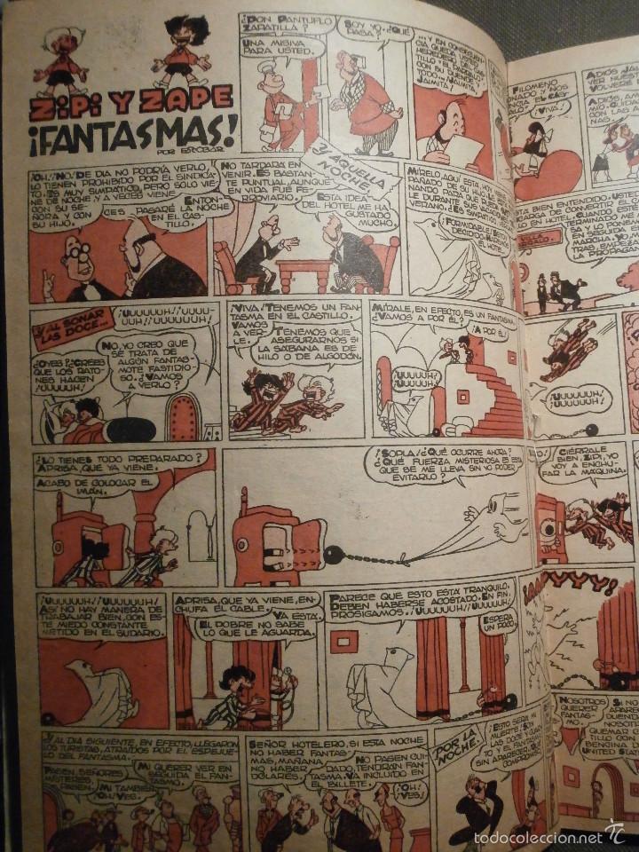 Tebeos: Tebeo - Super pulgarcito - Junio del Año 1950 - Nº 15 - Editorial Bruguera - En Buen Estado - - Foto 6 - 58588535