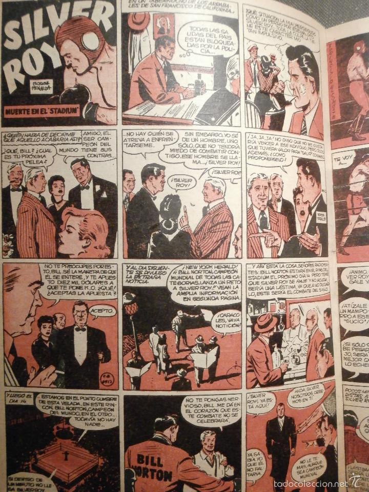 Tebeos: Tebeo - Super pulgarcito - Junio del Año 1950 - Nº 15 - Editorial Bruguera - En Buen Estado - - Foto 7 - 58588535