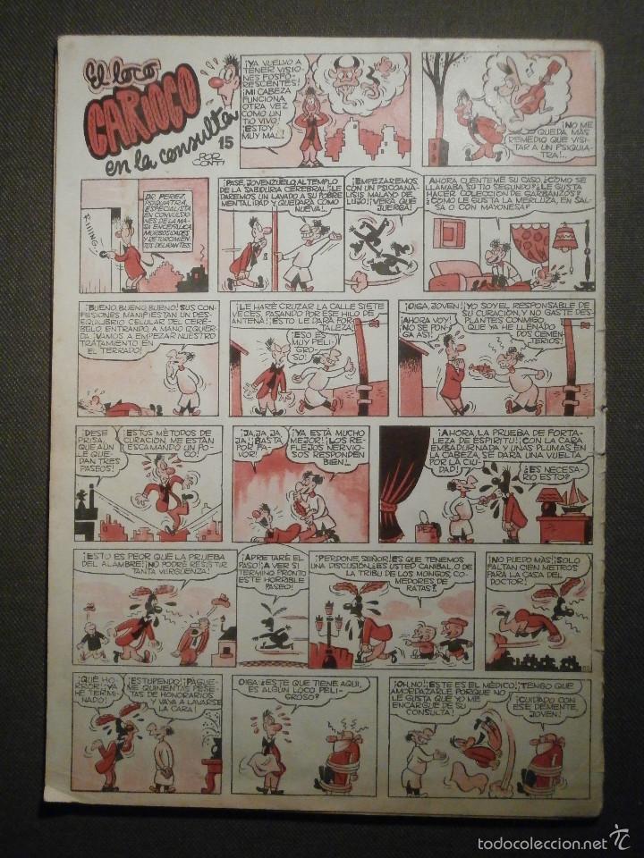 Tebeos: Tebeo - Super pulgarcito - Junio del Año 1950 - Nº 15 - Editorial Bruguera - En Buen Estado - - Foto 8 - 58588535
