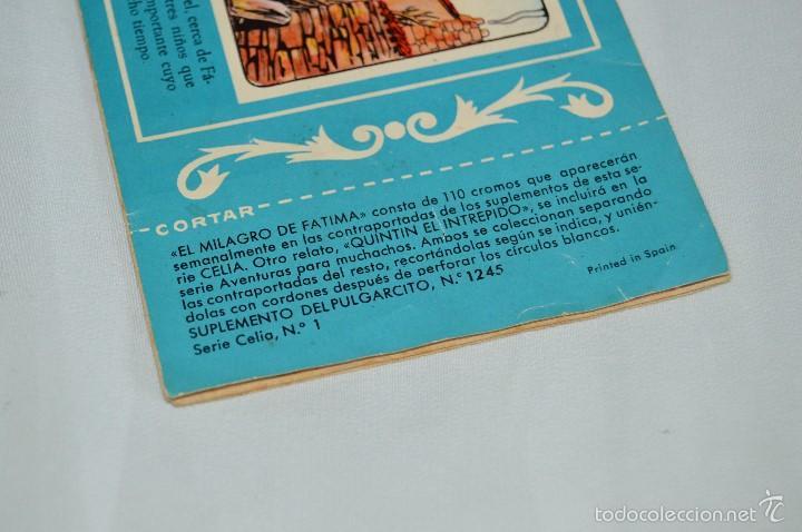 Tebeos: TEBEO PULGARCITO - SUPLEMENTO PARA NIÑAS - 1245, SERIE CELIA Nº 1 - BRUGUERA - MUY ANTIGUO, ORIGINAL - Foto 3 - 58635611