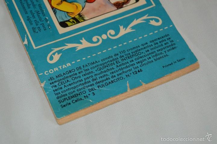 Tebeos: TEBEO PULGARCITO - SUPLEMENTO PARA NIÑAS - 1246, SERIE CELIA Nº 3 - BRUGUERA - MUY ANTIGUO, ORIGINAL - Foto 3 - 58635730