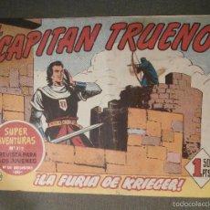 Tebeos: TEBEO - COMIC - EL CAPITAN TRUENO - LOS SUEÑOS DE UN MALVADO - BRUGUERA - Nº 200 - 1960 - ORIGINAL. Lote 58644900