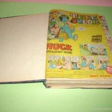 Tebeos: 49 TEBEOS TELE COLOR, ENCUADERNADOS. Lote 58663881
