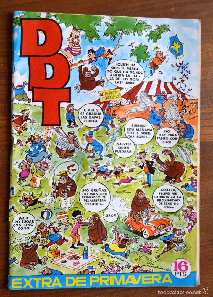 DDT EXTRA PRIMAVERA BRUGUERA 16 PTS * AÑOS 70 (Tebeos y Comics - Bruguera - DDT)