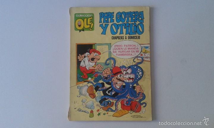 PEPE GOTERA Y OTILIO -- Nº 1 -- 1971 -- CHAPUZAS A DOMICILIO -- COLECCIÓN OLÉ -- ED. BRUGIERA -- (Tebeos y Comics - Bruguera - Ole)