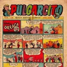 Tebeos: PULGARCITO. Nº 1158. EDITORIAL BRUGUERA. CARPANTA, GILDA, TRIBULETE, URRACA, CATAPLASMA..... Lote 58716424