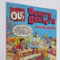Tebeos: BENITO BONIATO DIAS DE ASUETO. Lote 58782471