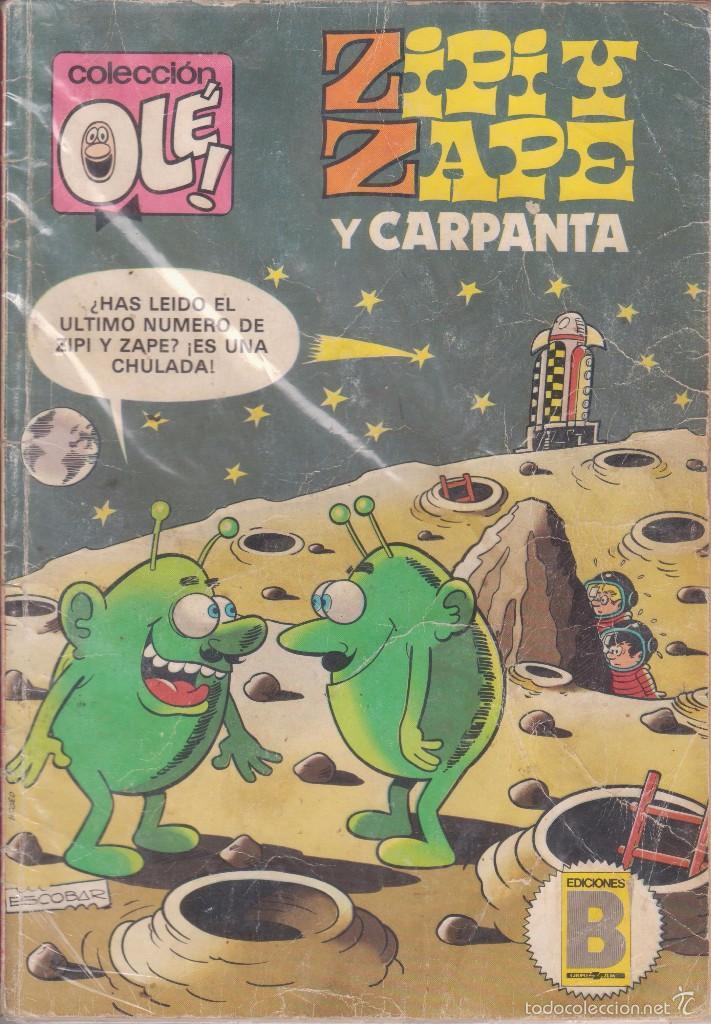 CÓMIC OLÉ! ZIPI Y ZAPE Nº 254-Z 13 ED.BRUGUERA AÑO 1987 DE 200 PTAS.1ª EDICIÓN (Tebeos y Comics - Bruguera - Ole)