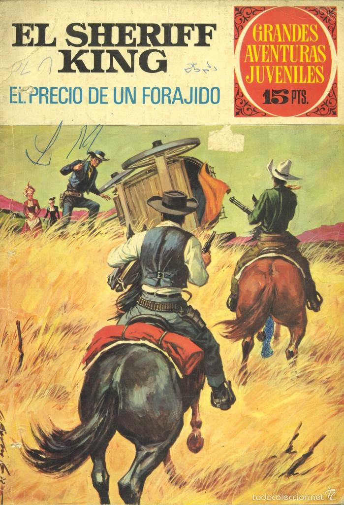 SHERIFF KING Nº43. EDITORIAL BRUGUERA, 1973. DE VÍCTOR MORA Y FRANCISCO DÍAZ. (Tebeos y Comics - Bruguera - Sheriff King)