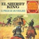Tebeos: SHERIFF KING Nº43. EDITORIAL BRUGUERA, 1973. DE VÍCTOR MORA Y FRANCISCO DÍAZ.. Lote 58939315