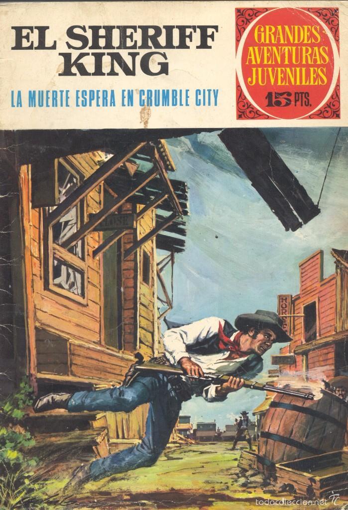 SHERIFF KING Nº16. EDITORIAL BRUGUERA, 1972. DE VÍCTOR MORA Y FRANCISCO DÍAZ (Tebeos y Comics - Bruguera - Sheriff King)
