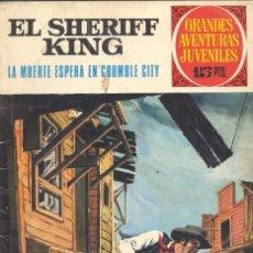 Tebeos: SHERIFF KING Nº16. EDITORIAL BRUGUERA, 1972. DE VÍCTOR MORA Y FRANCISCO DÍAZ. Lote 58939625