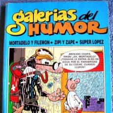 Tebeos: GALERIAS DEL HUMOR - MORTADELO Y FILEMON, ZIPI Y ZAPE, SUPER LOPEZ - 2ª SERIE 30 - EN 1987.. Lote 58949520