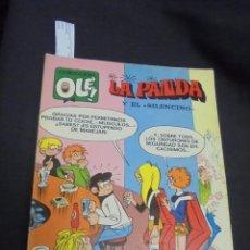 Tebeos: COLECCION OLE - Nº 40 - LA PANDA Y EL SILENCINO - 1ª EDICION - BRUGUERA - . Lote 59351325