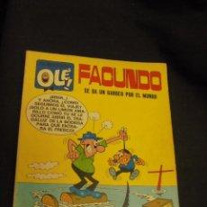 Tebeos: COLECCION OLE - Nº 16 - FACUNDO SE DA UN GARBEO POR EL MUNDO - 1ª EDICION -. Lote 59364985