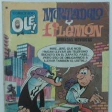 Tebeos: COLECCIÓN OLÉ - # 95 - MORTADELO Y FILEMÓN - JORNADAS MOVIDITAS - 3ª EDICIÓN - 1978 - BRUGUERA. Lote 59441910