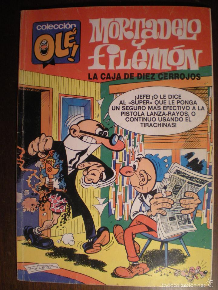MORTADELO Y FILEMÓN. LA CAJA DE DIEZ CERROJOS. OLÉ Nº88 - M.16 - 2ª EDICION. AÑO 1991 (Tebeos y Comics - Bruguera - Ole)