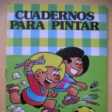 Tebeos: CUADERNOS PARA PINTAR Nº 7, COL. HEROES INFANTILES, ED. BRUGUERA, JAN, 1ª ED 1985 ZIPI Y ZAPE. Lote 59520383