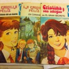 Tebeos: LA FAMILIA FELIZ (2) - CRISTINA Y SUS AMIGAS (1) - LOTE DE 3. Lote 59588191
