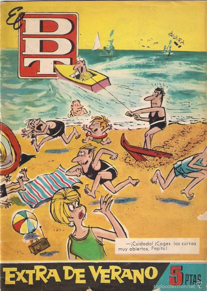 DDT . EXTRA DE VERANO (Tebeos y Comics - Bruguera - DDT)
