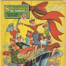 Tebeos: SELECCIONES DE HUMOR DE EL DDT. ALMANAQUE 1959. Lote 59774332