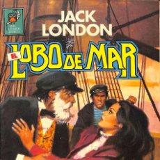 Tebeos: JACK LONDON EL LOBO DE MAR Nº 2 - BRUGUERA 1985. Lote 59902895