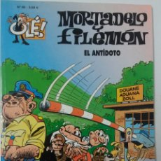 Tebeos: OLE MORTADELO Y FILEMON EL ANTIDOTO Nº 68. Lote 59952191