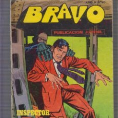 Tebeos: BRAVO INSPECTOR DAN Nº 9 BRUGUERA. Lote 60100979