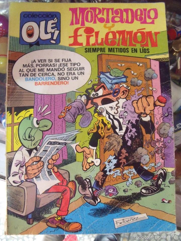 MORTADELO Y FILEMON SIEMPRE METIDOS EN LIOS COLECCION OLE 106 EDITORIAL BRUGUERA 1982 (Tebeos y Comics - Bruguera - Ole)