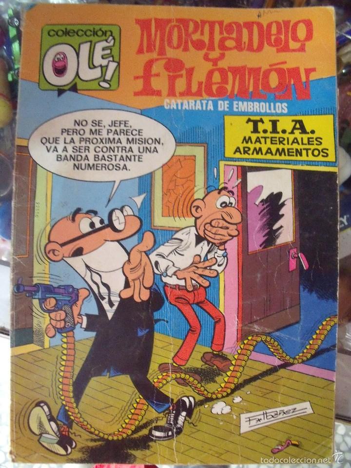 MORTADELO Y FILEMON ..COLECCION OLE Nº 100 AÑO 1984 (Tebeos y Comics - Bruguera - Ole)