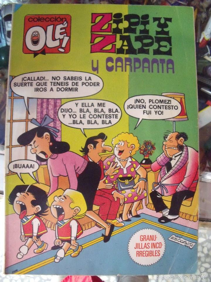 COLECCION OLE Nº 201 ZIPI Y ZAPE CARPANTA 3ª EDICION- BRUGUERA - AÑO 1985 (Tebeos y Comics - Bruguera - Ole)