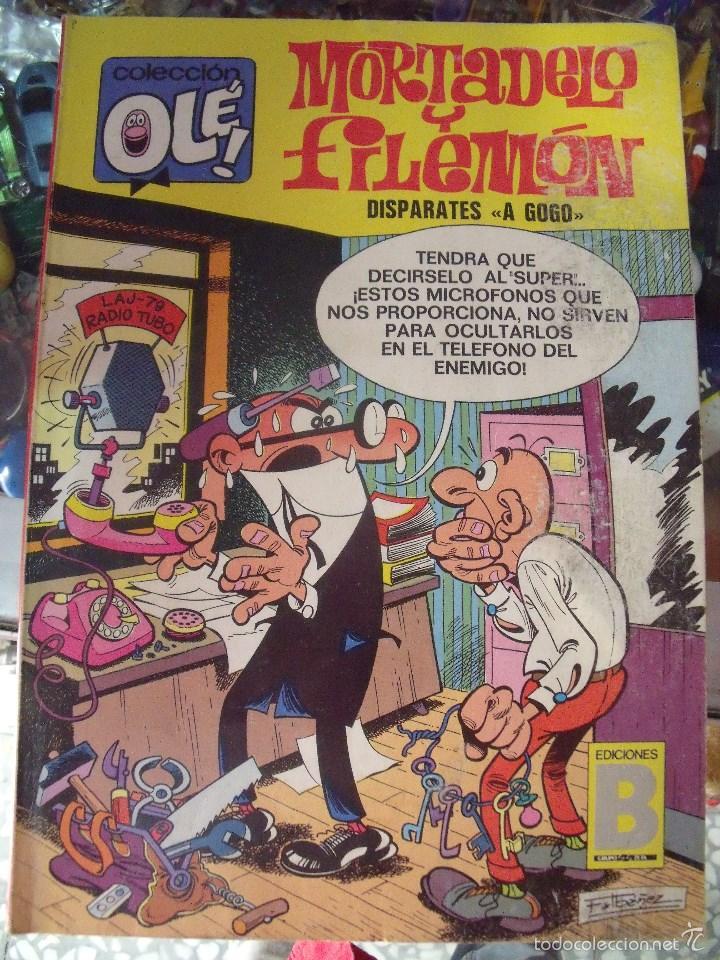 1 COMIC - AÑO 1987 - MORTADELO Y FILEMON - OLE - Nº 90 - M18 - DISPARATES A GOGO (Tebeos y Comics - Bruguera - Ole)