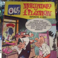 Tebeos: 1 COMIC - AÑO 1987 - MORTADELO Y FILEMON - OLE - Nº 90 - M18 - DISPARATES A GOGO. Lote 60188099