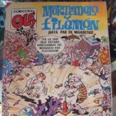 Tebeos: COL OLE. MORTADELO Y FILEMON. EDICIONES B. Nº 134-M.141. 1ª EDICIÓN. AÑO 1988. Lote 60188535