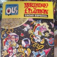 Tebeos: OLE NÚM. 304-M.143 - MORTADELO Y FILEMON - CACAO ESPACIAL - ED. B - 1989 - PRIMERA EDICION EN B. Lote 60188839