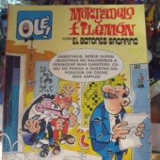 Tebeos: COLECCIÓN OLÉ! - MORTADELO Y FILEMÓN - EDICIONES B - Nº 249-M40 - 2ª EDICIÓN - JULIO 1987. Lote 60190627